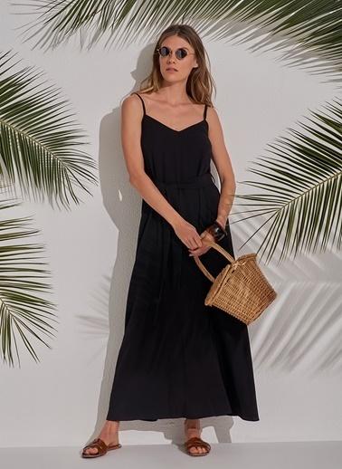 Morhipo Beach Bol Elbise Siyah